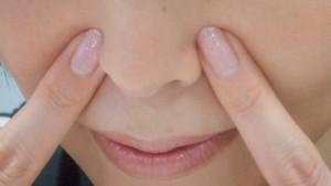 美容鍼ツボ押し-迎香